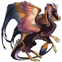 Sunset starfall Skydancer skin by katze-des-grauens
