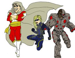 Justice Infinity Reserves by DAHalfblood