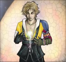 .tidus. by skeletonfishpunk