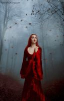 Girl-in-the-red by AnGel-Perroni
