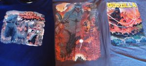 Jeff Zorrow Godzilla T-Shirt Collection by Legrandzilla