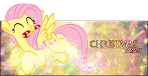 Christmas Fluttertime by BlackKiriin