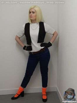Android 18 2015 LAGC by KatMaz