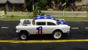'55 Bel Air USA Gasser #1 by hankypanky68