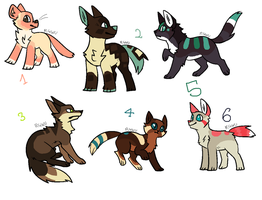 Can't stop making adopts D: [OPEN] by oOMintAdoptablesOo