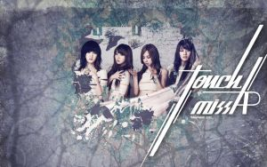 Miss A : Touch Wallpaper by GraPHriX