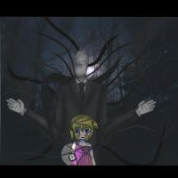 :Slender Man: by Normal-Mushroom