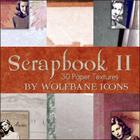 Scrapbook II Icon Textures by jordannamorgan