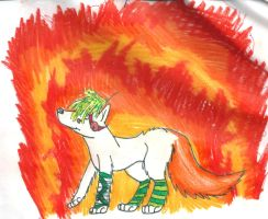 Set fire by CanineCriminal