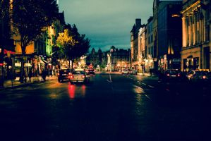 Dublin at night by Yassser84