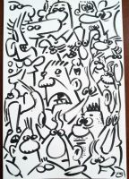 Index Card Fulla Faces by shermcohen