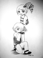 Couple as PPG style by Evinawer