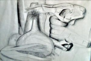 still life pencil by menzo
