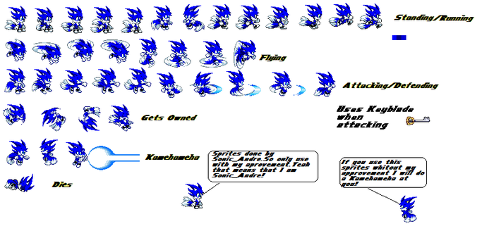 Sonic_Andre Sprites by BlitzTH