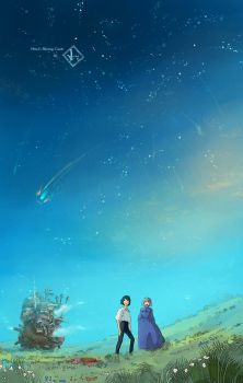 Howl's Moving Castle by S-Hiiragi