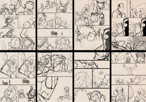 GTFO sketch pages 2 by bleedman
