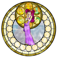Kingdom Hearts Megara by ArdennaOuvrard