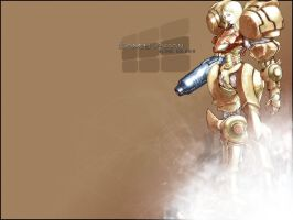 Samus Wallpaper by lucasvfa