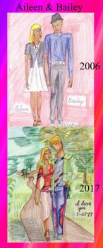 Aileen and Bailey Before and after by Lisa22882