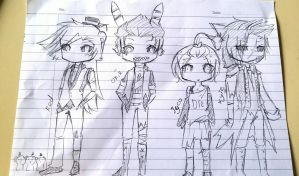 sketch- nightmare gang~ by karinchan97