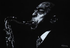 Jazz Legend - Archie Shepp by ryoung