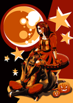 halloween Theme: Red riding hood and the wolf by WinterGlace
