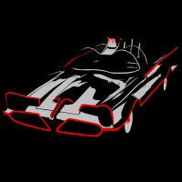 The Batmobile by Mnollock