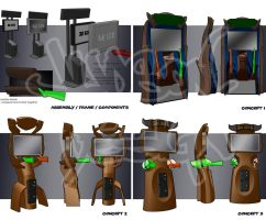 Big Buck Hunter Next Generation Concepts by ManicGraphix
