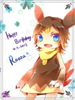 HBD for Roozu 2013 by christon-clivef