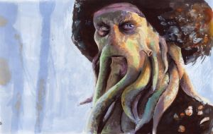Davy Jones by ArcanePrayer