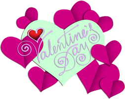 Valentines day purple and mint 300px by EXOstock