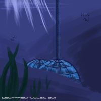Speedpaint - Underwater City by Deoxyribonucleic