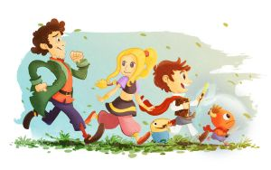Ni no Kuni by SkiddMcMarxx