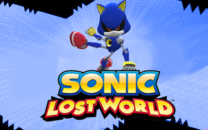 Metal Sonic In lost world by NIBROCrock