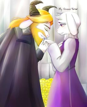 My Queen Toriel by Tipanny