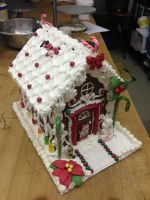Gingerbread House by Spudnuts