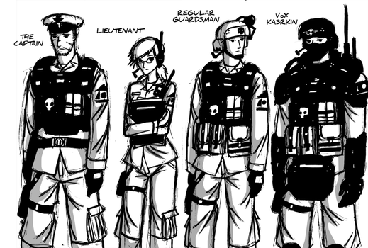 Comic Cast: Cadians Part 1 by NicklausofKrieg