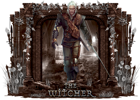 The Witcher by MonikaC