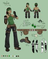 Ref Sheet: The Theif OUTDATED by verallien