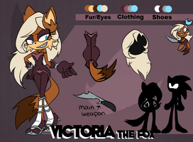Victoria the Fox by eternityspark