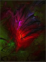 Abstract Flowers by Brigitte-Fredensborg