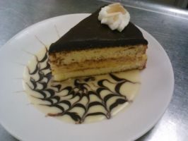 Boston Cream Pie by Evilpixistix5