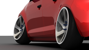 Volkswagen GTI on 3SDM 0.06 by ExoticcTofu