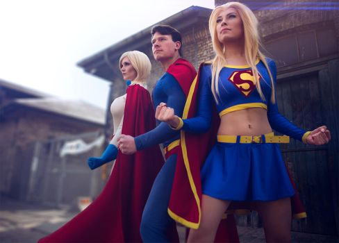 Triple Trouble from Krypton by simplearts