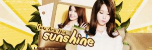 You Are My Sunshine Cin's Request by @EJ by Eriol-Diggory-Art