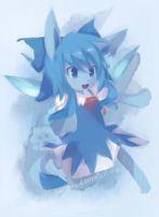 Glaceon Cirno by Cocoroll