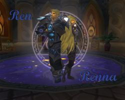 Dalaran Mage Twins, Ren and Renna by Anime-Master