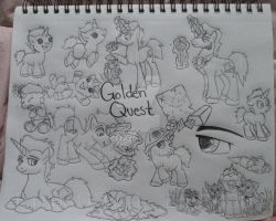 OC- Golden Quest by EmR0304