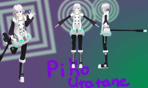 MMD Newcomer: Utatane Piko 2.0 + Download by Calculated-Lie