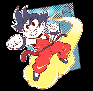Goku Shirt by Anaugi